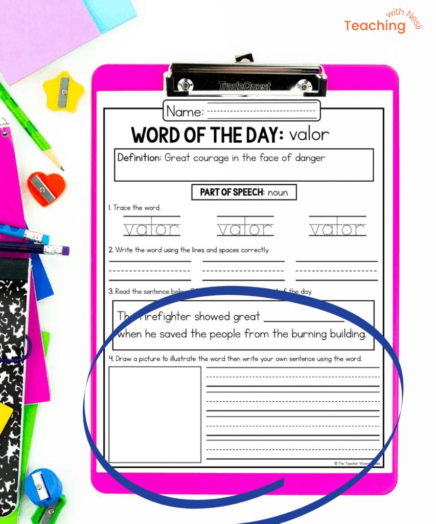 methods for teaching vocabulary